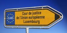 plaque du trafic Cour de justice de l'Union europenne